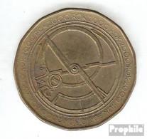 Tschechien 43 2000 Stgl./unzirkuliert Eisen, Messing Plattiert Stgl./unzirkuliert 2000 20 Korun Jahrtausendwende - Tschechische Rep.