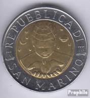 San Marino KM-Nr. : 394 1999 Stgl./unzirkuliert Bimetall Stgl./unzirkuliert 1999 500 Lire Erforschung - San Marino