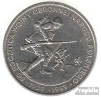 Polen KM-Nr. : 185 1989 Stgl./unzirkuliert Kupfer-Nickel Stgl./unzirkuliert 1989 500 Zlotych II. Weltkrieg - Pologne
