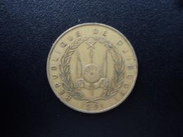 DJIBOUTI : 20 FRANCS 1991  KM 24   TTB - Djibouti