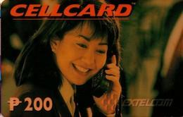 TARJETA TELEFONICA DE FILIPINAS (PREPAGO - CELLCARD) (011). - Philippines