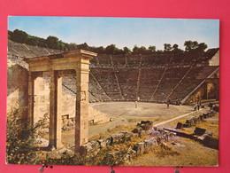Grèce - Epidaure - Le Théâtre Ancien - Très Bon état - Scans Recto-verso - Grecia