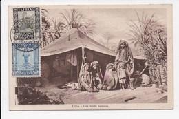 CPA LIBYE Una Tenda Beduina - Libya