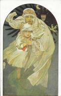 Illustration Alphons Mucha: Brnénska Matice Skolska - Stastny Novy Rok 1914 - Mucha, Alphonse