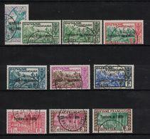 Inini - Yvert 36 à 45 Oblitérés ST-ELIE - France-libre - Scott#1/31 - Used Stamps