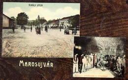 Marosujvár (Ocna Mureș) : Király Utcza, Reggeli Imádkozás A Bányában/prayer In Mine   Hungarian Edition Ca. 1915 - Rumänien