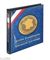 ALBUM NUMISMATIQUE POUR JETONS TOURISTIQUES -LINDNER - Turísticos