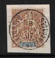Dahomey - Yvert 11 Oblitéré SAY Sur Petit Fragment - Scott#10 - Dahome (1899-1944)