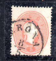 ASI15a - LOMBARDO VENETO 1861, Il 5 Soldi  Usato N. 33. - Lombardo-Veneto