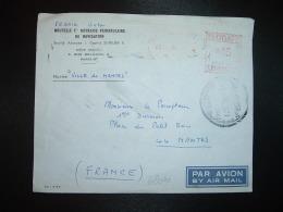 LETTRE Par Avion Pour La FRANCE EMA à 66 Du 25 II ?+OBL.25 FEB 1971 SUDAN MAIL+NLLE CIE HAVRAISE+ Navire VILLE DE NANTES - Soudan (1954-...)