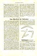 Das Wurfholz Der Australier/ Artikel, Entnommen Aus Kalender /1909 - Books, Magazines, Comics