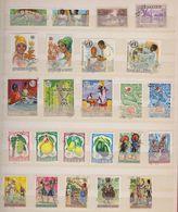 Guinée  / Lot De Timbres / 4 Pages / Etats Divers - Guinea (1958-...)