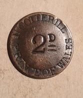 TOKEN JETON GETTONE HCOTTERILL PRINCE OF WALES 2 D - Monetari/ Di Necessità