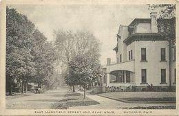 Pays Div- Ref L367- Etats Unis D Amerique - Usa - East Mansfield Street And Elk S Home - Bucyrus - Ohio - - Etats-Unis