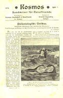 Paläontologische Umschau/ Artikel, Entnommen Aus Kalender /1909 - Books, Magazines, Comics