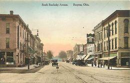 Pays Div- Ref L365- Etats Unis D Amerique - Usa - South Sandusky Avenue - Bucyrus - Ohio  - - Etats-Unis