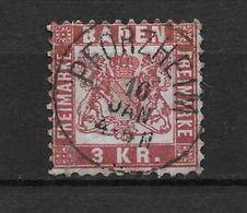 LOTE 1692  ///  (C030) ALEMANIA BADEN  YVERT Nº: 24 MATAS. COMPLETO   CATALOG./COTE: 4€ - Baden