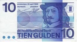 BILLETE DE HOLANDA DE 10 GULDEN DEL AÑO 1968 EN CALIDAD EBC (XF) (BANKNOTE) FRANS HALS - [2] 1815-… : Kingdom Of The Netherlands
