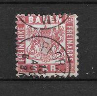 LOTE 1692  ///  (C030) ALEMANIA BADEN  YVERT Nº: 24    CATALOG./COTE: 4€ - Baden