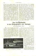 Das Landschaftsbild In Der Tiergeographie Und Ökologie / Artikel, Entnommen Aus Kalender /1909 - Books, Magazines, Comics