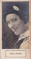 KETTY PIERSON; MADELEINE LAURENT. AUTOGRAPHE AUTOGRAFO SIGNEE SIGNATURE AUTHENTIQUE ORIGINAL.-BLEUP - Autographs