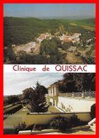 CPSM/gf (30)  QUISSAC.  Clinique De Quissac, Double Vue...B943 - Quissac