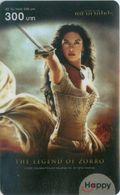 Mobilecard Thailand - Happy - Movie,Film,cinema - The Legend Of Zorro (1) - Kino