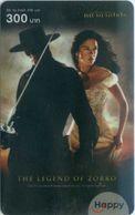 Mobilecard Thailand - Happy - Movie,Film,cinema - The Legend Of Zorro (3) - Kino
