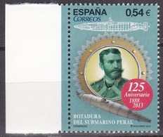 "2014, Spanien, 4869, Unterseeboots ""Isaac Peral"", Submarinos ""Isaac Peral"", MNH ** - 1931-Hoy: 2ª República - ... Juan Carlos I"