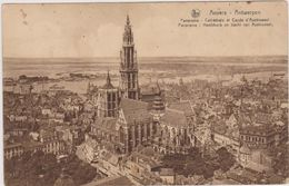 BELGIQUE,BELGIE,ANVERS ,ANTWERPEN En 1936,vue Aérienne,Cathédrale,coude Austruweel,hoofdkerk En Bocht Van AUSTRUWEEL,rar - Antwerpen