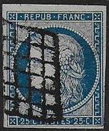 Cérès N° 4   Cote : 60 € - 1849-1850 Ceres