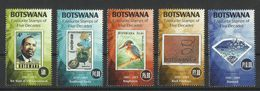 BOTSWANA   2016  FAVOURITE STAMPS OF 5 DECADES  SET  MNH - Botswana (1966-...)