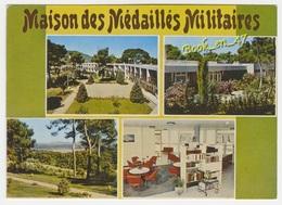 {37481} 83 Var Hyères , Maison Des Médaillés Militaires , Multivues ; Divers Aspects - Commercio