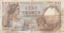 BILLETE DE FRANCIA DE 100 FRANCS DEL 2-5-1940   (BANKNOTE) - 1871-1952 Antiguos Francos Circulantes En El XX Siglo