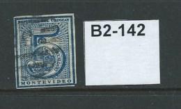 Uruguay 1866 5c - Uruguay