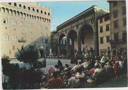 ITALIE,ITALIE,toscana,toscane,FIRENZE,FLORENCE EN 1965,piazza Signoria ,loggia Dell ' Orcagna,rareristorante,rare - Firenze (Florence)