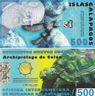 Galapagos - 500 Sucres 12.02. 2009 UNC Ukr-OP - Bankbiljetten