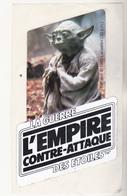 Très Rare YODA L'EMPIRE CONTRE-ATTAQUE AUTOCOLLANT STICKER STARS WAR 1985 - First Release (1977-1985)