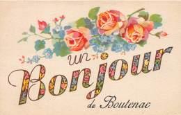 11 - AUDE  / 11534 - Boutenac - Belle Carte Fantaisie - France