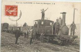 CPA PAS DES LANCIERS (13). LE TRAIN DES MARTIGUES - Other Municipalities