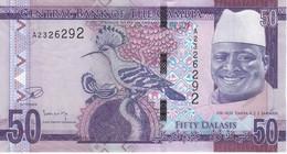 BILLETE DE GAMBIA DE 10 DALASIS DEL AÑO 2015 SIN CIRCULAR-UNCIRCULATED  (BANKNOTE) - Gambia