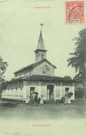 Pays Div- Ref L336- Guyane - Eglise De Marcouria - Carte Bon Etat - - Guyane