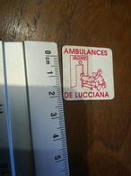Magnet Ambulances De Lucciana - Magnets