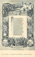 Pays Div- Ref L335- Carte Allemande - Allemagne - Illustrateurs -dessin Illustrateur -metz -moselle  - Carte Bon Etat - - Metz