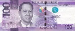 BILLETE DE FILIPINAS DE 100 PISO DEL AÑO 2017  (BANKNOTE) MAYON VOLCANO - Filipinas