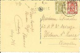 """CP Descente En Barquettes De Chiny à Lacuisine """" Le Gouffre Loué """" Griffe De FLORENVILLE . - Postmark Collection"""