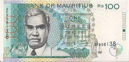 MAURITIUS=N/D    100  RUPEES         P-44     UNC - Mauritius