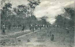 Congo Belge - Belgisch-Congo - Elisabethville - La Pose Du Rail - Nels Serie 14 No 173 - 1913 - Congo Belge - Autres
