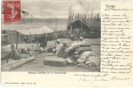 Congo Belge - Belgisch-Congo - Etalage D'étoffes Sur Le Haut-Congo - Nels Serie 14 No 35 - 1907 - Congo Belge - Autres