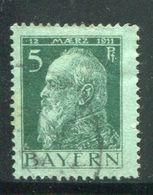 ALLEMAGNE BAVIERE- Y&T N°77- Oblitéré - Bavière